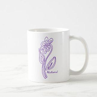 Natural Flower Mug