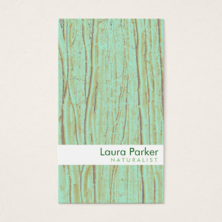 Natural Forest Green Tree Care Landscape Lawn Business Card