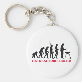 Natural fount Griller 2C Keychain