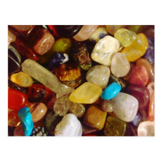 Natural Gemstones Postcard