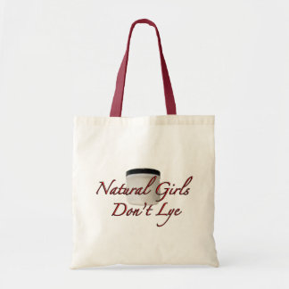 Natural Girls Don't Lye Canvas Bags