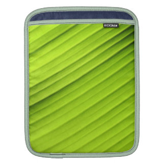 Natural Green Leaf Textured iPad Cover iPad Sleeves