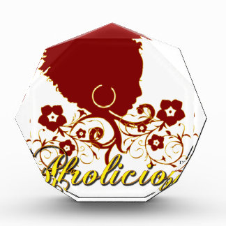 Natural Hair:Afrolicious Acrylic Award