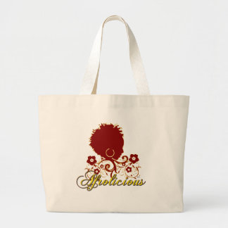 Natural Hair:Afrolicious Canvas Bags