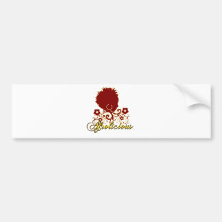 Natural Hair:Afrolicious Bumper Sticker
