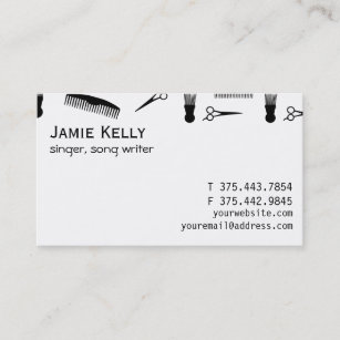 Black and natural hair business cards zazzle natural hair business card colourmoves