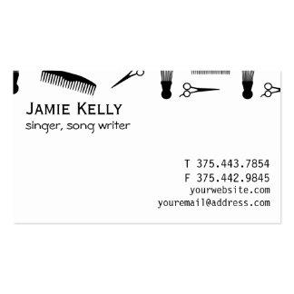 Natural hair business card