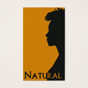 Natural hair business cards templates zazzle natural hair businesscard business card colourmoves