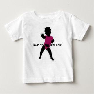 Natural hair girl t-shirt