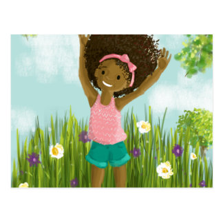 Natural Hair Greeting Card