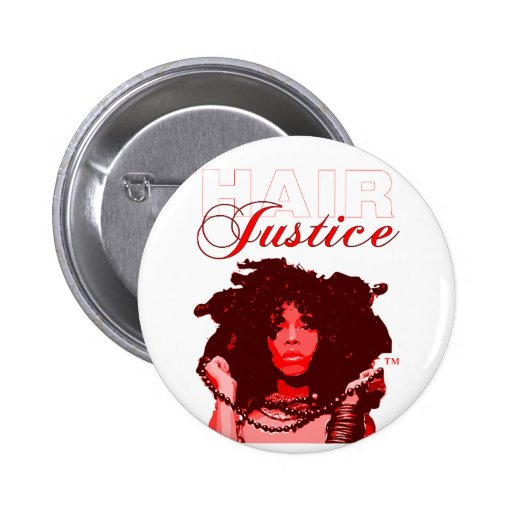 Natural Hair:HairJustice 2 Inch Round Button