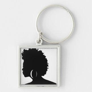Natural Hair Keychain