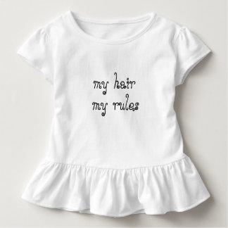 Natural Hair My Hair My Rules Toddle Tee