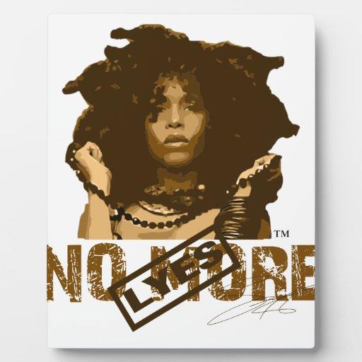 Natural Hair: No More Lye Display Plaques
