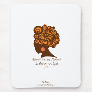 natural hair products (happy nappy) mouse pad