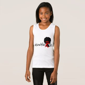 Natural Hair Rocks tank top