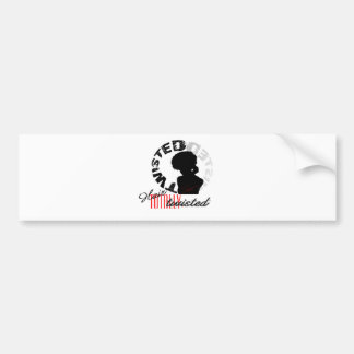 Natural Hair: Totally Twisted Bumper Sticker