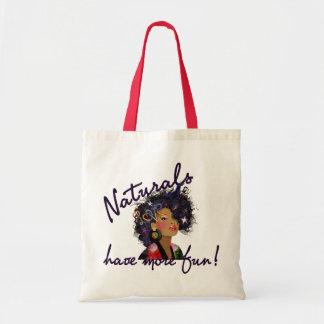 Natural Have More Fun Bag