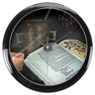 Natural Healing Aquarium Clock