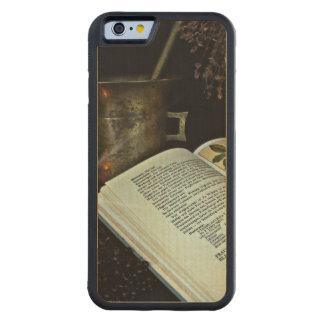 Natural Healing Carved® Maple iPhone 6 Bumper Case