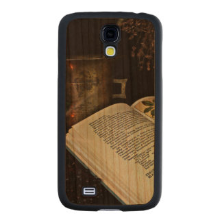 Natural Healing Carved® Cherry Galaxy S4 Case
