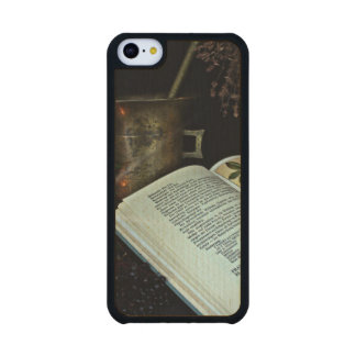 Natural Healing Carved® Maple iPhone 5C Case