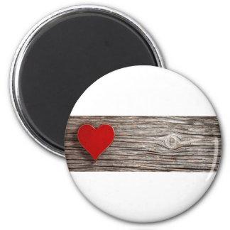 Natural Heart Valentines Magnet