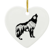 Natural Instinct Ceramic Ornament
