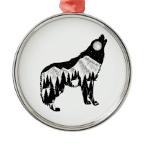 Natural Instinct Metal Ornament
