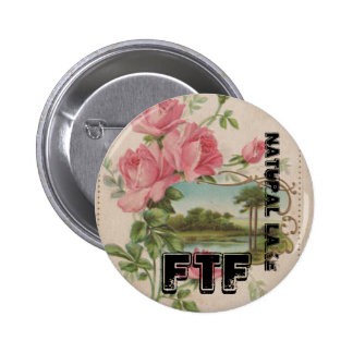 Natural Lake FTF Geocaching Vintage Swag Buttons