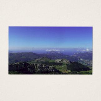 Natural landscape   Card De Visita