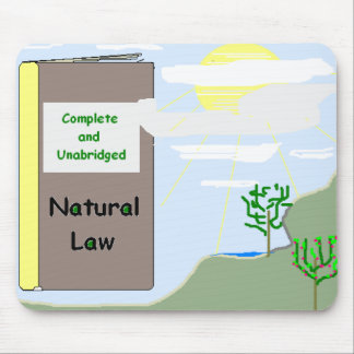 Natural Law Mousepad