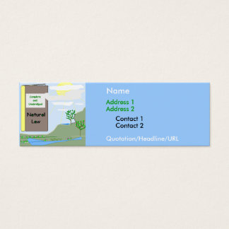 Natural Law Personal Card