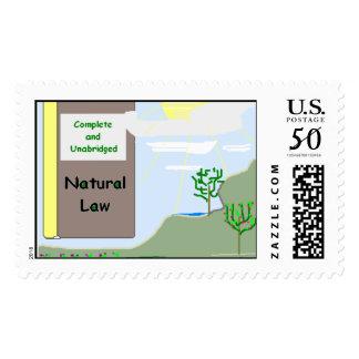 Natural Law Stamp