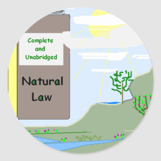 Natural Law Sticker
