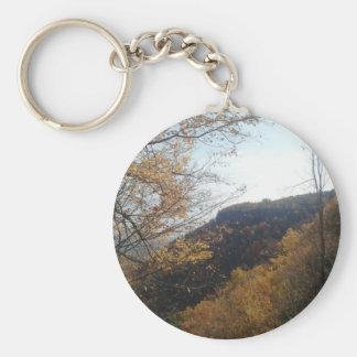 Natural Layout Key Chain