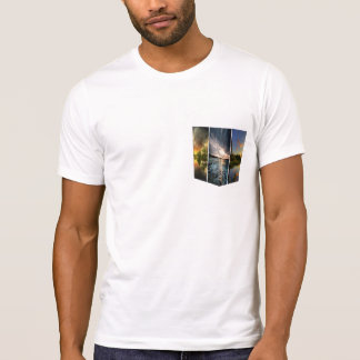 Natural lights Pocket-tees Design T-Shirt