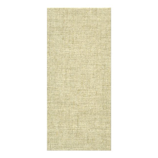 Natural Linen Canvas Texture Rack Card