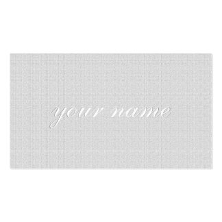 Natural Linen Texture Double-Sided Standard Business Cards (Pack Of 100)