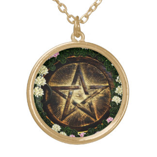 Natural Magick Round Pendant Necklace