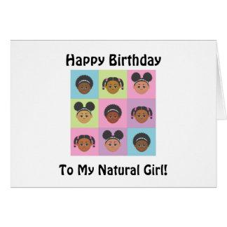 Natural Me Kids by MDillon Designs Card
