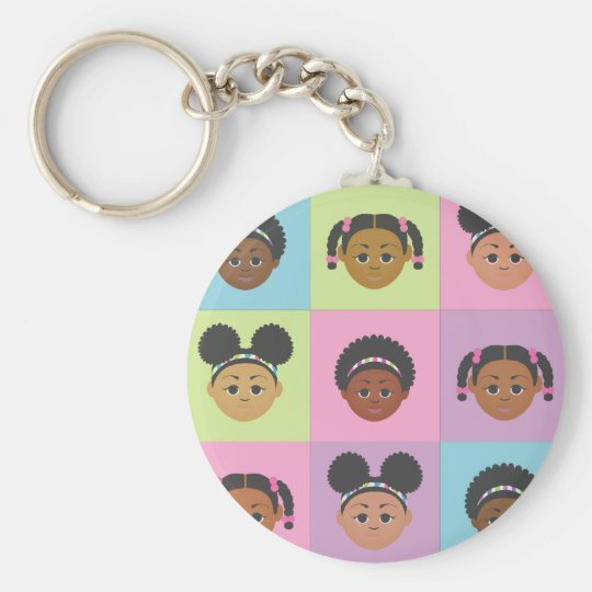 Natural Me Kids by MDillon Designs Keychain