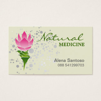 Natural Medicine Business Card
