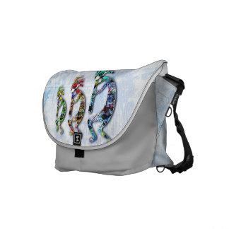 natural moderno de 3 x - la bolsa de mensajero bolsas de mensajería