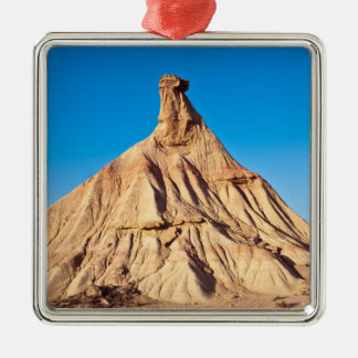 Natural monument with blue sky bottom metal ornament