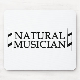 Natural Musician Mouse Pad