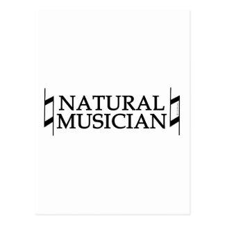 Natural Musician Postcard