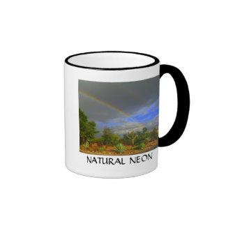 Natural Neon Ringer Mug