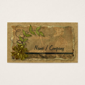 Natural Nostalgia Business Card