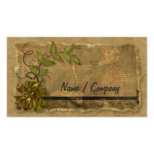Natural Nostalgia Business Cards